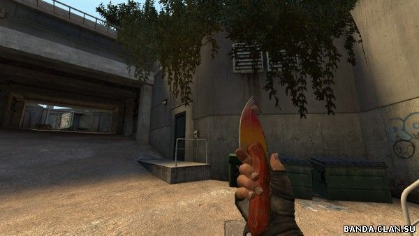 Модель ножа «Gut Knife Fade» для CSS v34-v88